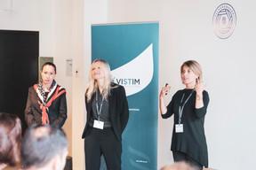 Virginie Boyard, Dulci Tavares et Antonella Gasparro (Vistim) ((Photo: Patricia Pitsch/Maison Moderne))