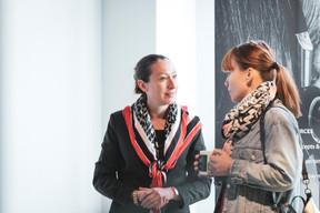 Virginie Boyard (Vistim) et Magali Larese (Maison Moderne) ((Photo: Patricia Pitsch/Maison Moderne))