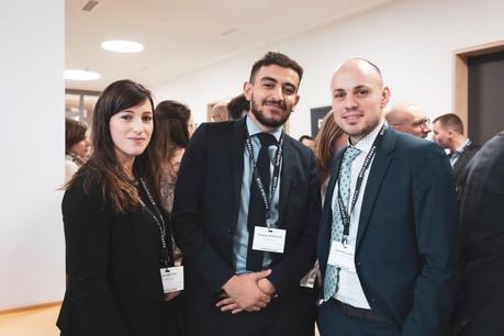 Aurélie Breton, Mohammed Benkhelifa et Raphael Pellegrin (Advisory Key) (Photo: Patricia Pitsch/Maison Moderne)