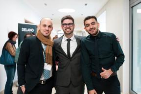 Raphael Pellegrin, Bruno Van de Vloet et Mohamed Benkhelifa (Advisory Key) ((Photo: Patricia Pitsch / Maison Moderne))