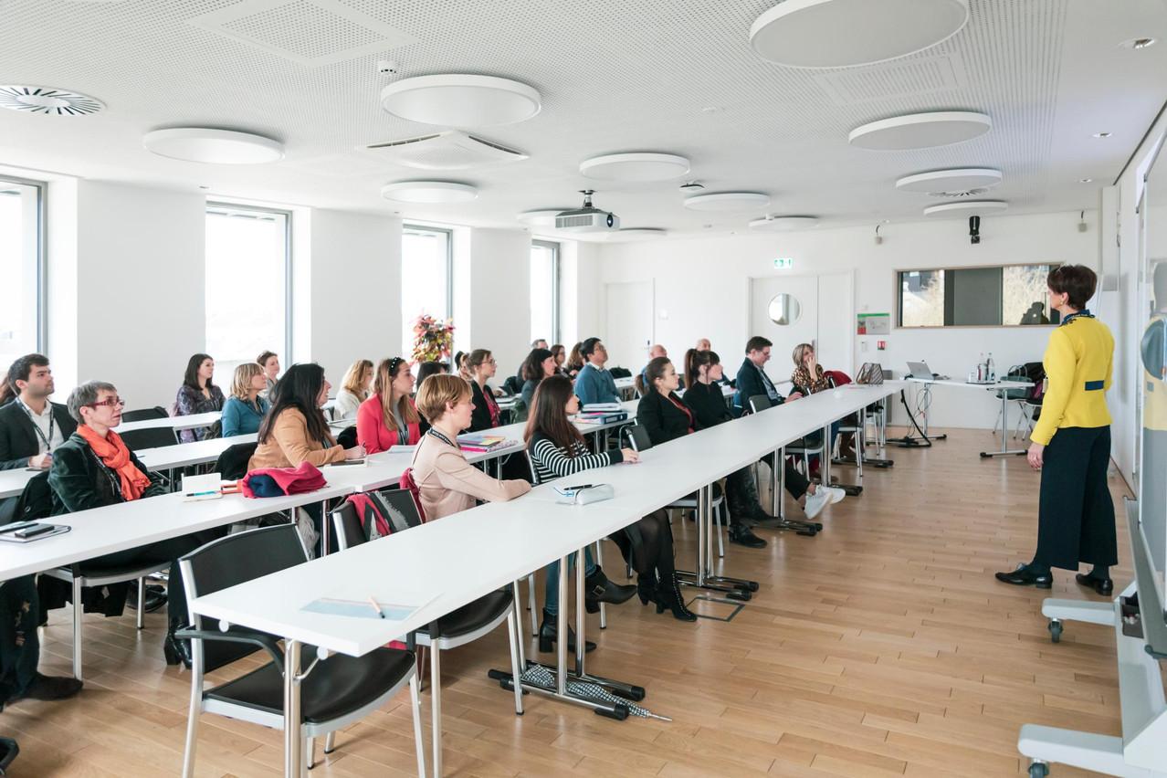 Matinée de workshops - 11.02.2020. (Photo: Patricia Pitsch / Maison Moderne)