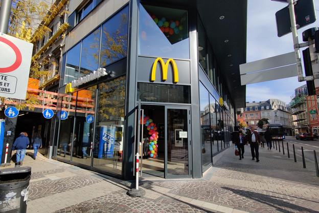 Après la place d'Armes et le Kinepolis Kirchberg, McDonald's dispose désormais d'un troisième restaurant dans la capitale. (Photo: Christophe Lemaire/Maison Moderne)