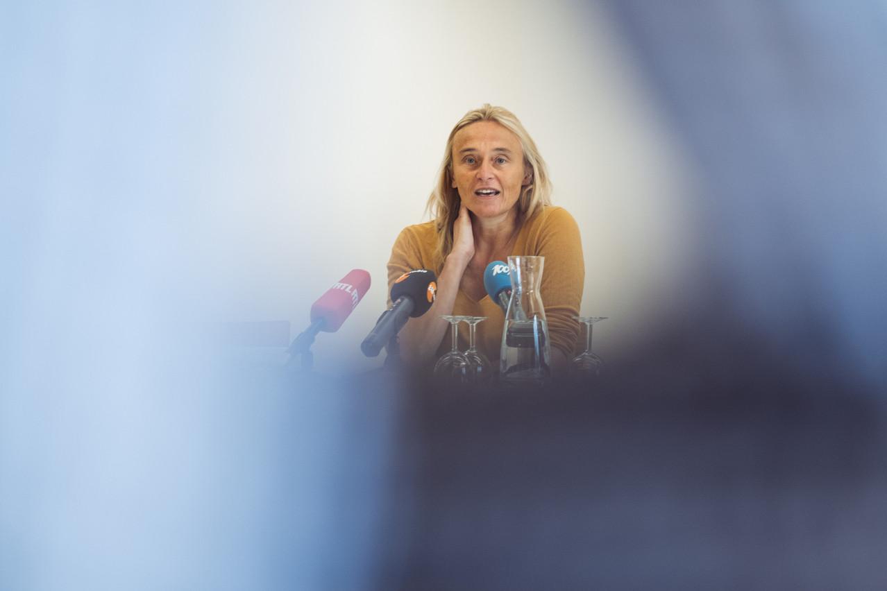 Blanche Weber dénonce l'absence de stratégie écologique à long terme se soldant par un déchirement du pays sur des dossiers industriels. (Photo: Sébastien Goossens / Archives Maison Moderne)