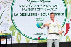 Le chef de La Distillerie,René Mathieu, récompensé par We're Smart pour son restaurant végétal. (Photo: Kachen)