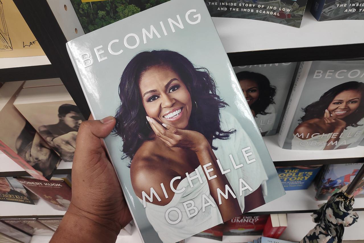 L'autobiographie de Michelle Obama s'est particulièrement bien vendue cet été chez Ernster. (Photo: Shutterstock)