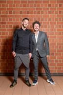 Vincent Genco-Russo (Ierace Dechmann + Partners) à droite ((Photo: Romain Gamba/Maison Moderne))