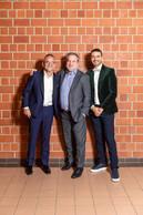 Francis Gasparotto (Maison Moderne), Youcef Damardji (PwC)  et Richard Karacian (Maison Moderne) ((Photo: Romain Gamba/Maison Moderne))