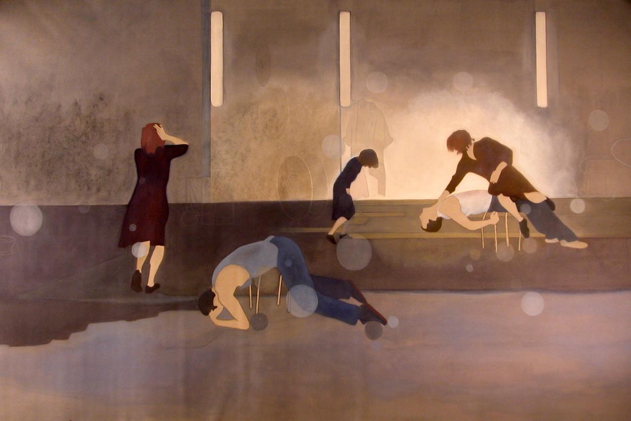 «Mémoires industrielles» (2007) de CarineKraus est exposée à neimënster dans le cadre de l'exposition «Les Pionnières: Luxembourg – les années 90, portraits de femmes». (Illustration: Carine Kraus)
