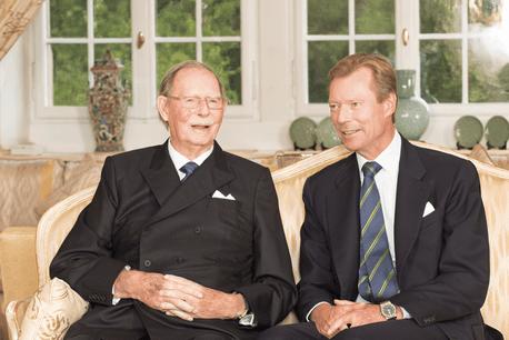 Le Grand-Duc Henri rend un hommage personnel à un père dont il souligne la grandeur d'âme. (Photo: Cour  grand-ducale  / Lola Velasco)