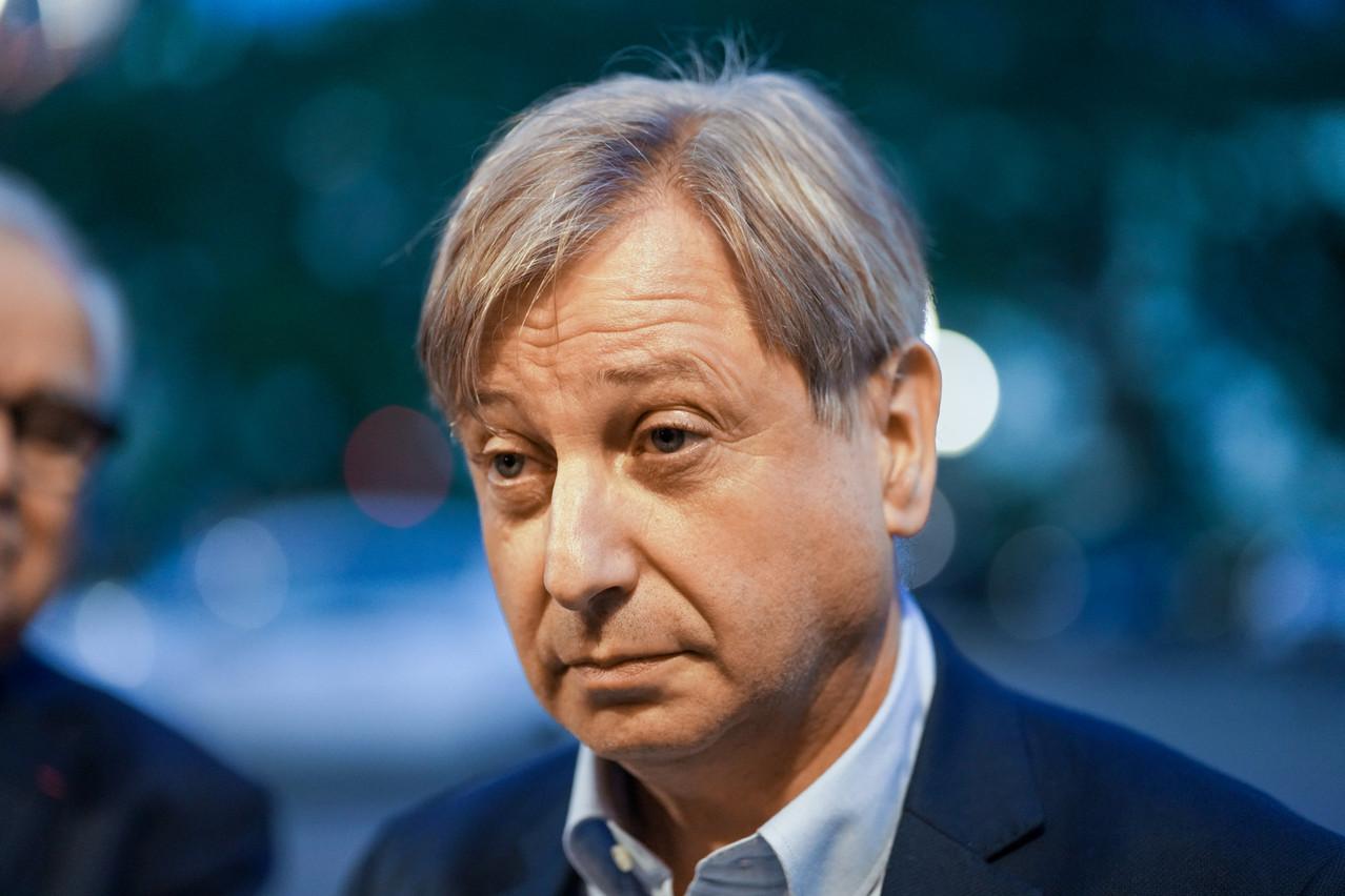 François Grosdidier a choisi la voix du dialogue et de la collaboration avec le Grand-Duché. (Photo: Romain Gamba/Maison Moderne)