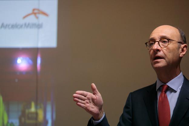 Michel Wurth a expliqué à Eco(n)finement quelques-unes de ses analyses. (Photo: Matic Zorman/Archives)