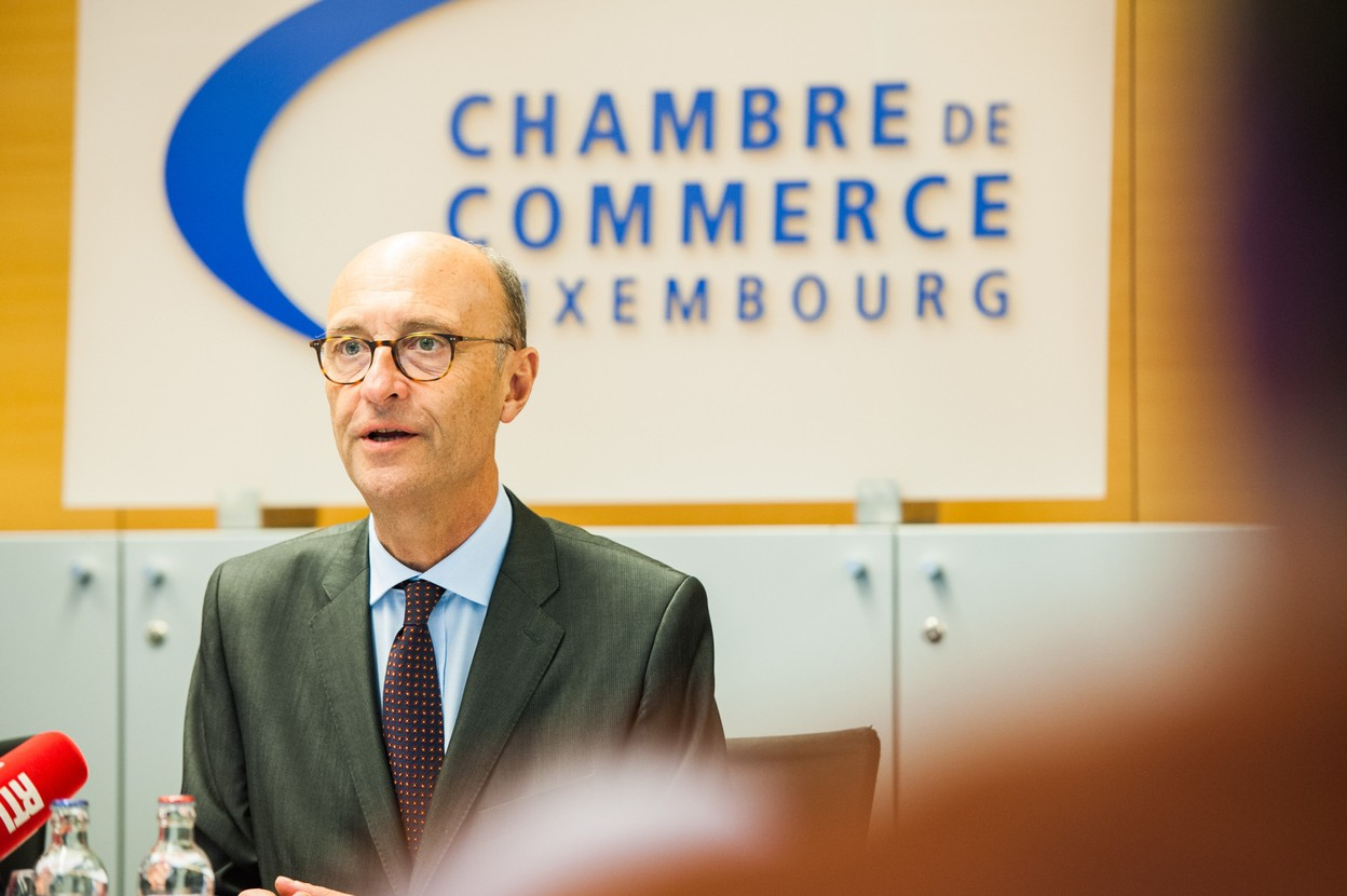 For Michel Wurth, honorary president of the Chamber of Commerce and president of the Idea Foundation, efficiency is more important than fairness in the next tax reform. Photo: Maison Moderne