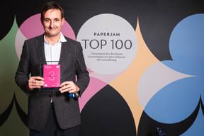 Nicolas Buck, 3e du Paperjam Top 100 2020. ((Photo: Julian Pierrot / Maison Moderne))