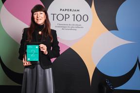 Françoise Thoma, 2e du Paperjam Top 100 2020. ((Photo: Julian Pierrot / Maison Moderne))