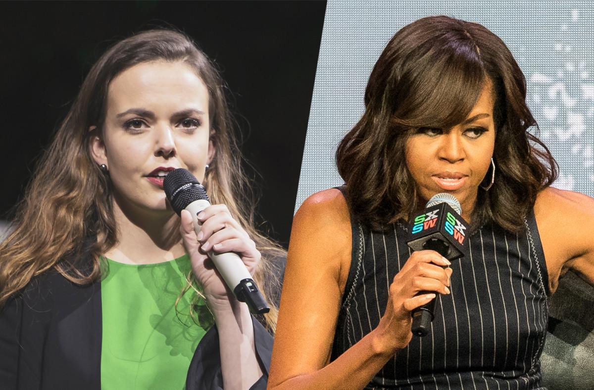 Michelle Obama pourrait elle-même venir coacher les start-up retenues pour le programme d'été du Nasdaq, qui travaille à une alimentation plus saine. Comme Food4All, retenue dans le programme. (Photos: Archives / Maison Moderne et Shutterstock)