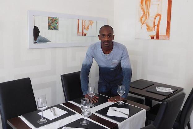 Laurent Tall a reçu un prêt pour l'ouverture de son restaurant sénégalais à Esch-sur-Alzette.            (Photo: Microlux)