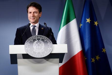 Giuseppe Conte a officialisé, ce mercredi matin, le bouclage des négociations en vue de former un gouvernement de coalition inédit entre deux partis hier opposés. (Photo: Shutterstock)