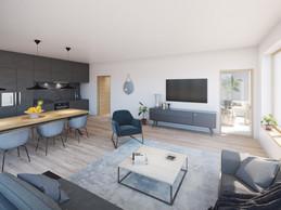 Les logements vont du studio au trois chambres pour les familles. (Illustrations: Petitdidierprioux/Ponnie images)