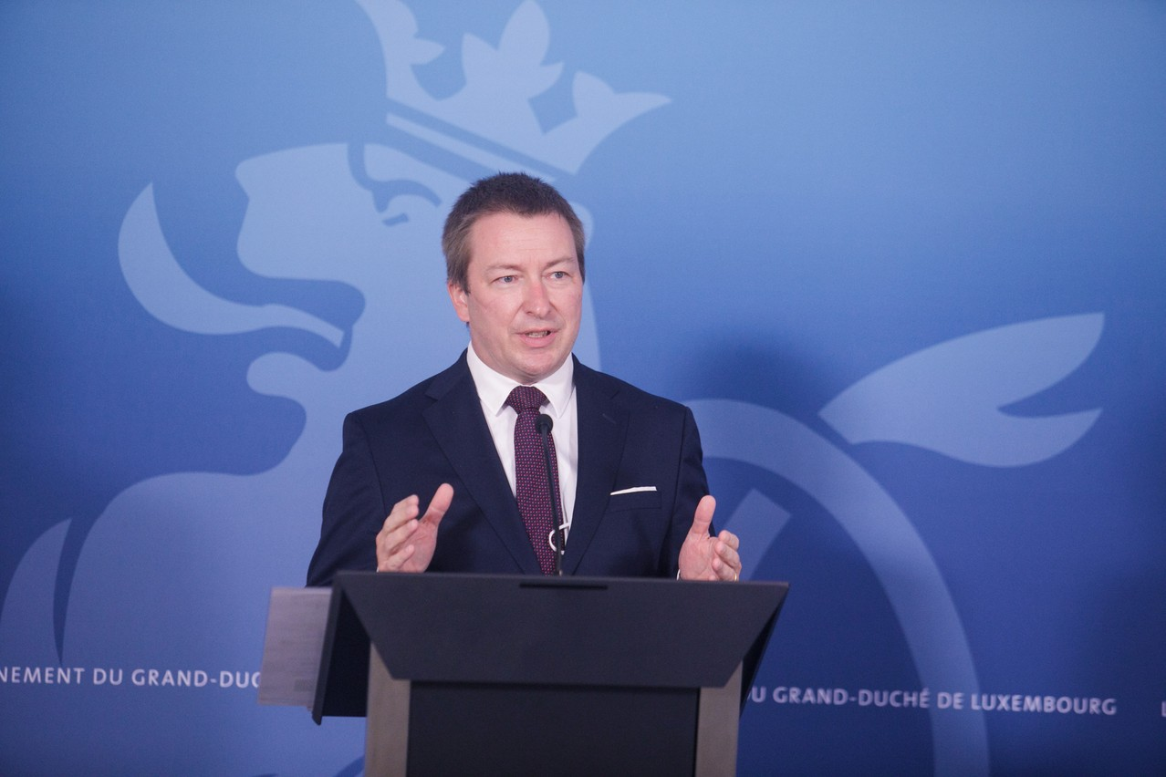 The digital inclusion project began in 2019. Marc Hansen, digitalisation minister, has outlined an action plan. Photo: Matic Zorman / Maison Moderne archives