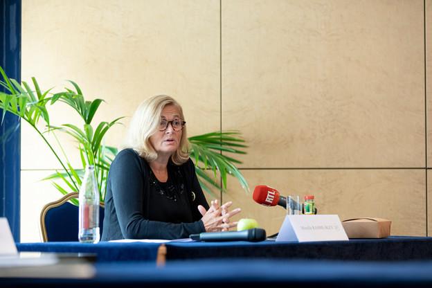 MireilleRahmé-Bley remplaceGuill Kaempff à la tête de l'association des commerçants de la capitale. (Photo: JanHanrion/Maison Moderne)