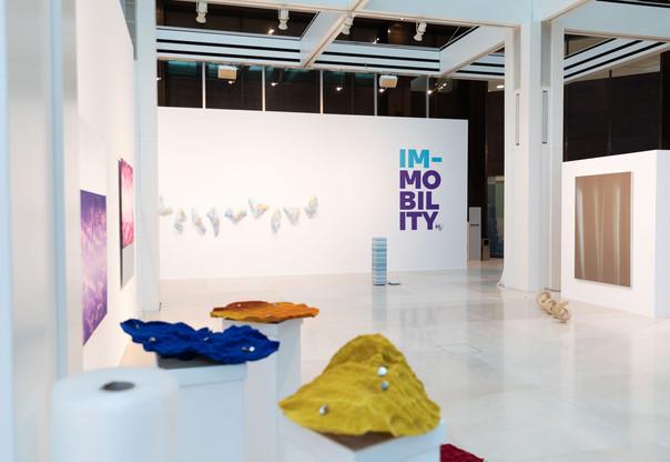 L'exposition «Im-Mobility» est présentée dans la Galerie Indépendance de la BIL. (Photo: BIL)
