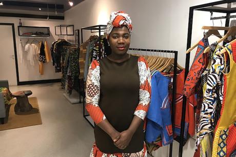 Élodie Dja propose ses propres créations à partir de tissus venus directement d'Afrique. (Photo: DR)