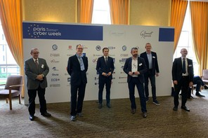 Avant le lancement de la Cybersecurity Week au Luxembourg du 19 au 29 octobre, les experts luxembourgeois ont pris part au lancement du mois de la cybersécurité, ce mercredi à Paris. (Photo: Cybersecurity Luxembourg/Twitter)