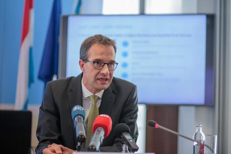 Pascal Rogiest, CEO de Luxtrust. (Photo: Matic Zorman / Archives)