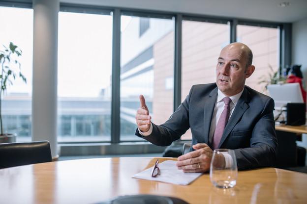 Philippe Seyll, CEO de Clearstream Banking. (Photo: Edouard Olszewski/archives)