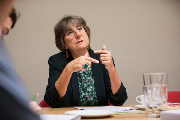 Laura Zuccoli, présidente de l'Asti. (Photo: Jan Hanrion / Maison Moderne / Archives)