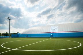 L'«Air Dome» du site de Mondercange a été inauguré en 2017 parAleksander Čeferin, le président de l'UEFA. ((Photo: Nader Ghavami))