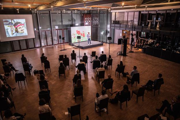 Le Domaine Thermal de Mondorf-les-bains accueillait le 10 septembre dernier le 10x6 Talents: Next Generation organisé par le Paperjam Club. Jan Hanrion/Maison Moderne Publishing SA