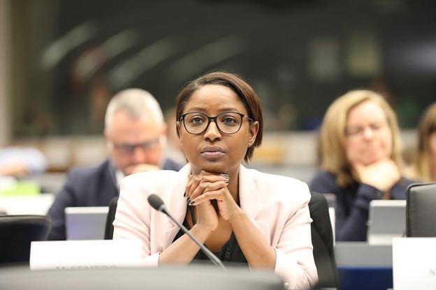 L'eurodéputée Monica Semedo, sanctionnée pour harcèlement moral, est suspendue pour une durée de 15 jours. (Photo: DR)