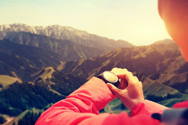 Altitude, pulsations, tracé à suivre: votre montre cardio GPS est devenue un véritable ordinateur de poignet. (Photo: Shutterstock)