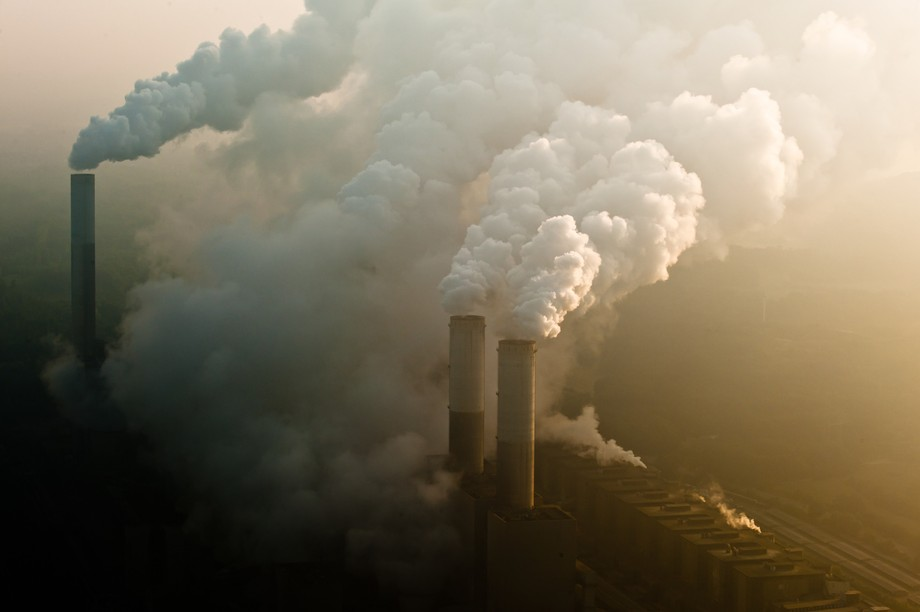 The smoking chimneys of a coal power plant Photo: Shutterstock