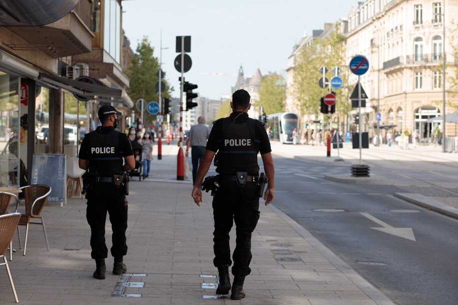 The grand ducal police reveals some statistics regarding the security situation around Luxembourg City station (Photo: Matic Zorman/Maison Moderne)