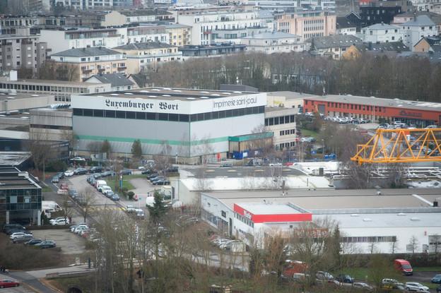 L'Association luxembourgeoise des journalistes apporte son soutien aux salariés de Saint-Paul. (Photo: Anthony Dehez)