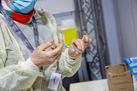 7.000 doses de vaccin supplémentaires sont arrivées, ces derniers jours, dans le département voisin du Luxembourg. (Photo: SIP/JulienWarnand)