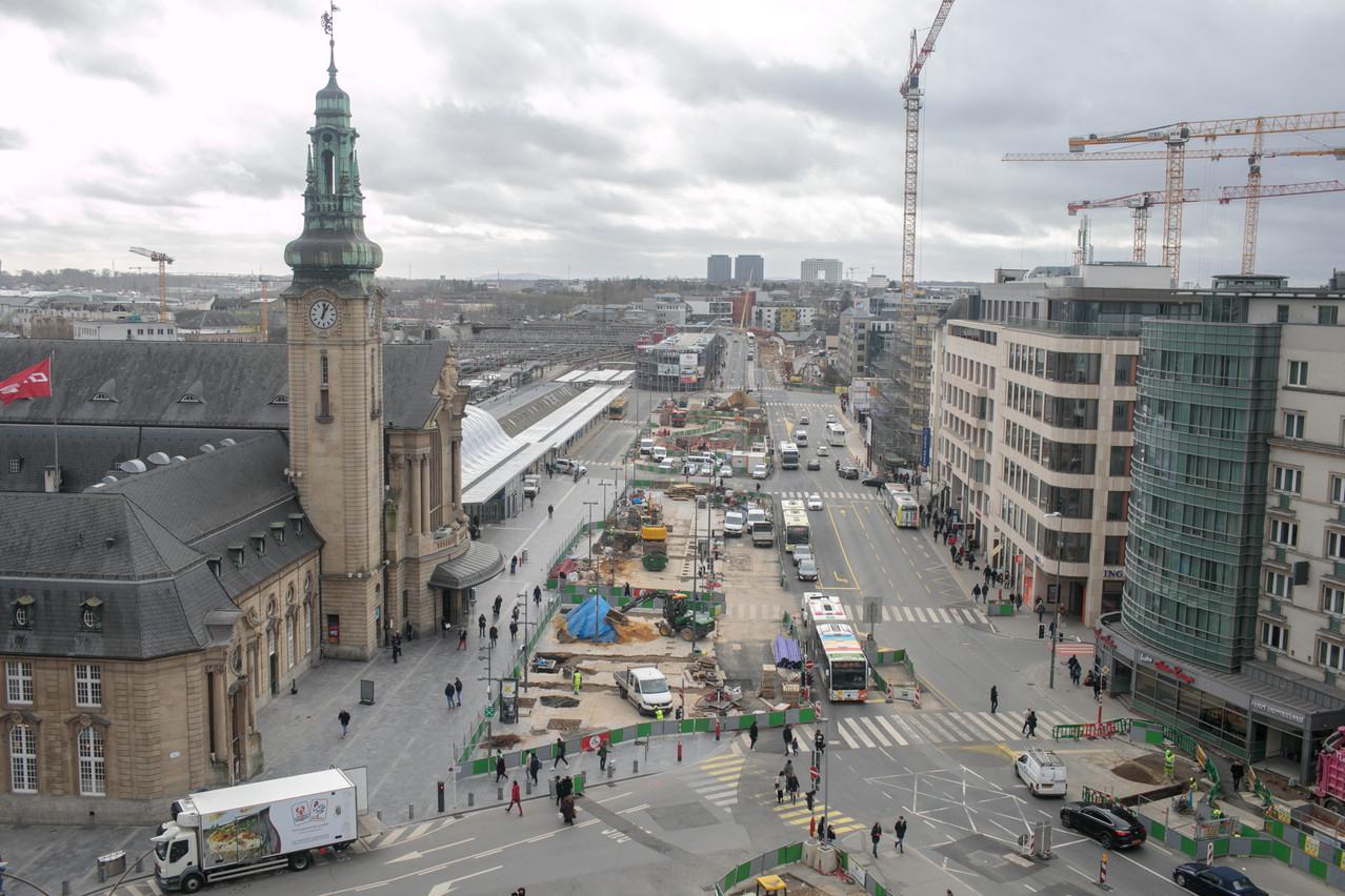 Les riverains du quartier de la gare de Luxembourg n'en peuvent plus des dealers et de l'insécurité. La Ville renvoie aux compétences du gouvernement. (Photo: Matic Zorman/archives/Maison Moderne)