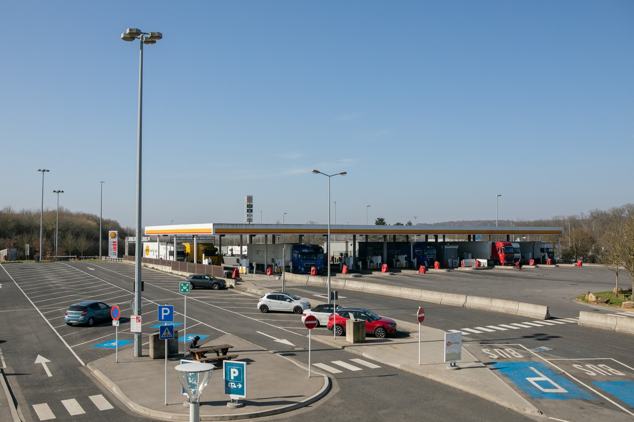 Fuel sales account for 83% of the revenue generated for the state at Luxembourg's motorway service stations. (Photo: Matic Zorman/Maison Moderne)