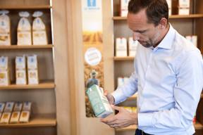 Le packaging est quant à lui pensé pour faciliter la reconnaissance des sortes de pâtes ou de farine, l'usage que le client peut en faire ou encore le temps de cuisson à respecter. ((Photo: Romain Gamba/Maison Moderne))
