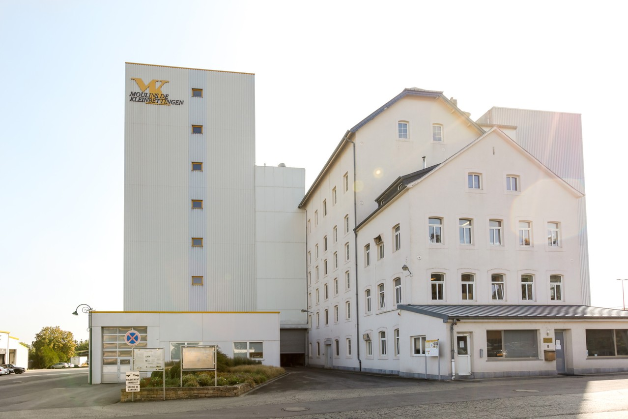 Le site de l'entreprise à Kleinbettingen où sont stockées les matières premières. (Photo: Romain Gamba/Maison Moderne)