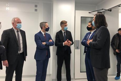 Un incubateur de 350m² dédié à la santé devrait prendre place à la House of Biohealth au printemps2021. Un investissement de 850.000 euros. (Photo: Paperjam)