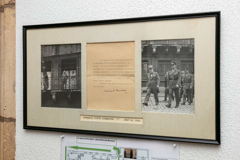 Memories of Churchill's visit to Luxembourg in 1946 Romain Gamba / Maison Moderne