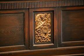 Un exemple du type de motifs qui ornent le site. ((Photo: Romain Gamba/Maison Moderne))