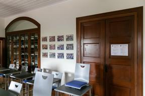 Sur le mur représenté ici se trouve, selon la rumeur, une bouteille de spiritueux laissée par Napoléon. ((Photo: Romain Gamba/Maison Moderne))