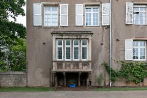 Un des éléments du château qui devra bientôt être entretenu, selon Raymond Manes. ((Photo: Romain Gamba/Maison Moderne))