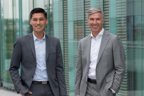 Stéphane Thauk, managing director de MVGM Luxembourg ,  et Romain Muller, managing director de JLL Luxembourg . (Photo: JLL )