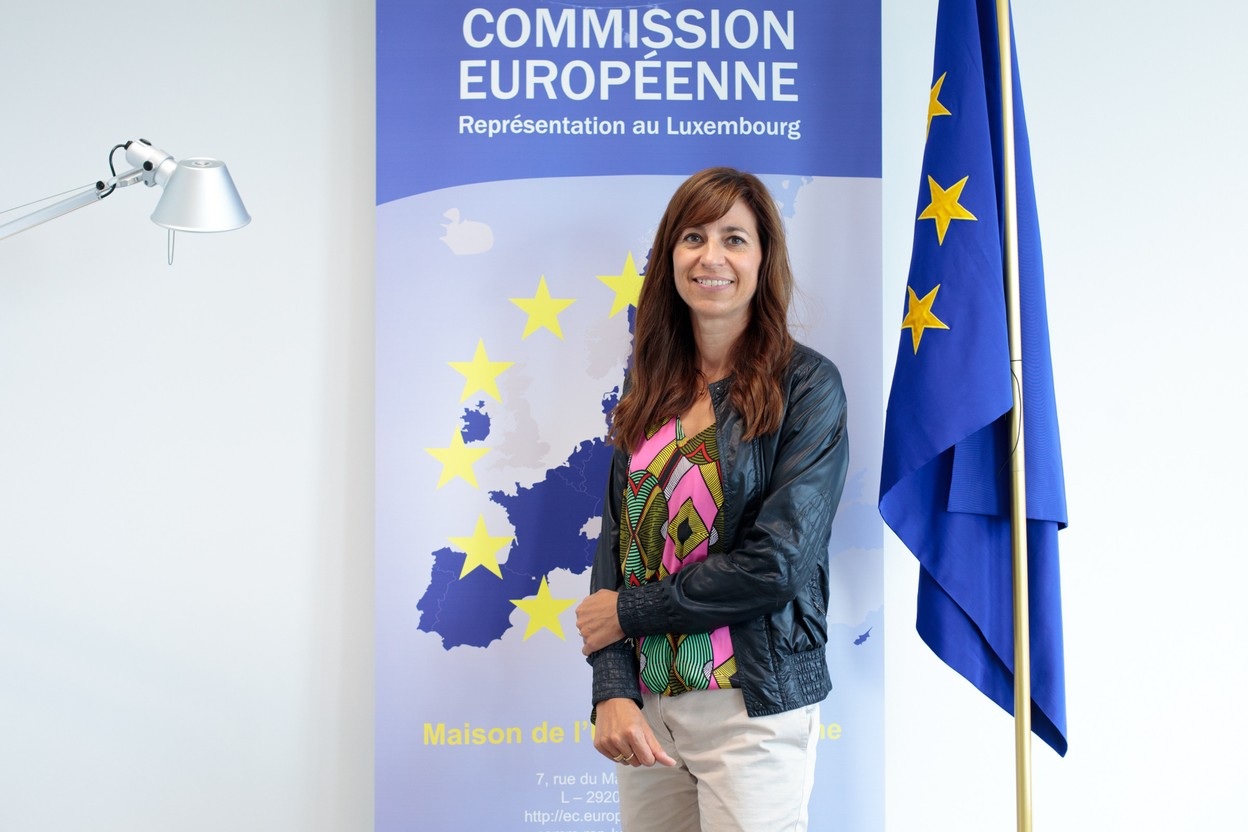 """""""My loyalty is to the commission,"""" says Anne Calteux, who previously worked as head of cabinet at the health ministry. """"I am also loyal to Luxembourg, but my mandate is to work hand in hand with the Commission. My employer is Ursula von der Leyen, I don't work for the government anymore."""" (Photo: Matic Zorman/Maison Moderne)"""