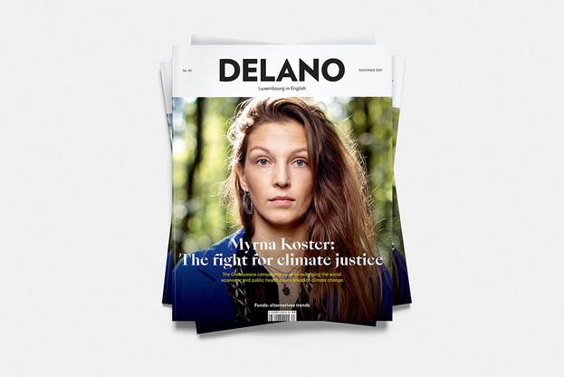 Myrna Koster décrit dans Delano son combat pour la justice climatique. (Visuel: Maison Moderne)
